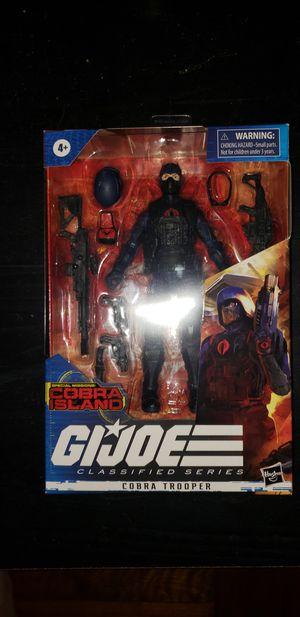 Gi Joe classified corbra Island target exclusive corba trooper for Sale in Watervliet, NY
