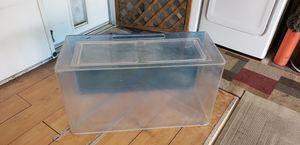 3' x 15 x 20 hi plexiglass terrarium/aquarium for Sale in Fresno, CA