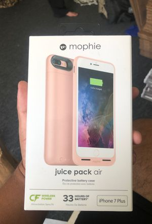 New Mophie air case for iphone 7+ for Sale in Calabasas, CA