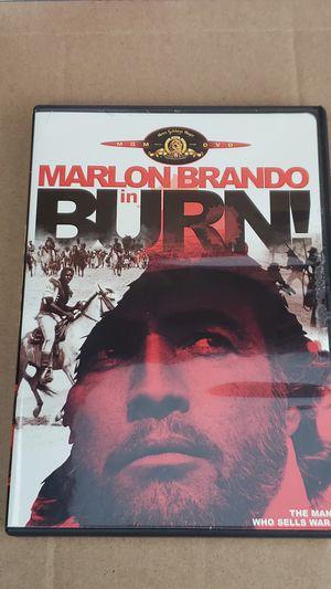Marlon Brando In Burn DVD ( 2005 ) for Sale in Woodbridge, VA
