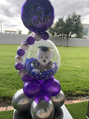 Grad Graduation Gift Balloons Bouquets for Sale in Orlando, FL