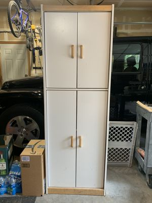 Storage shelving cabinet for Sale in Gig Harbor, WA