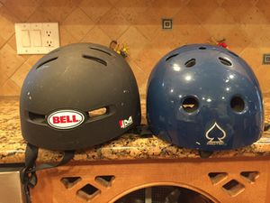 Bike/skateboard/roller skate /rollerblade helmets for Sale in Fairfax, VA