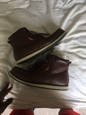 I dark brown Levi boots for Sale in Tampa, FL