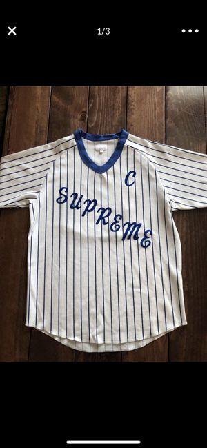 Supreme Baseball Jersey for Sale in San Jose, CA