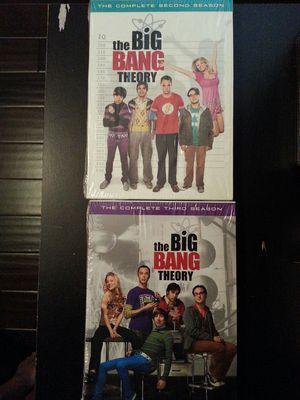 The Big Bang theory DVD Season 2 & 3 for Sale in Laredo, TX