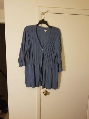 Blue Cardigan for Sale in Manassas, VA