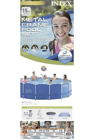 15ft by 48inches metal frame huge swimming pool brand new for Sale in Alhambra, CA
