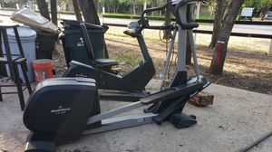 Recumbent bike and elliptical for Sale in Sun City, TX