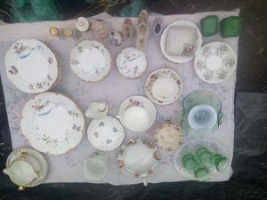 Collection of Antique Bone China for Sale in Hayward, CA