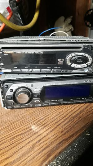 Stereo car cd receivers (cheap) for Sale in Greeley, CO