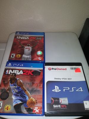 3 ps4 games take all for $5 for Sale in Modesto, CA