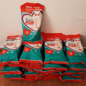 Brand new 102 Bags 408 Pampers Cruisers size 3 Diapers I'm in (Fontana) Message Only When Ready To Pick Up for Sale in Fontana, CA