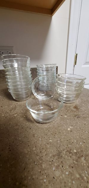 Pyrex / Corning 463 2in 6oz Scalloped Custard Dessert Cups Nut Finger Bowls $Price Per Bowl for Sale in Downers Grove, IL