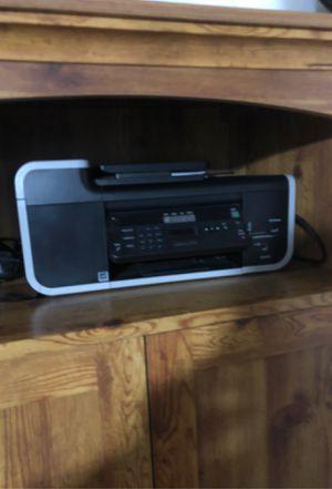 Desk, computer and printer w/ fax machine for Sale in Apopka, FL