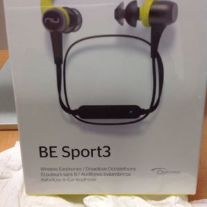 Clearance. Bluetooth Headphones. Nu Force BE Sport3 By Optoma for Sale in Costa Mesa, CA