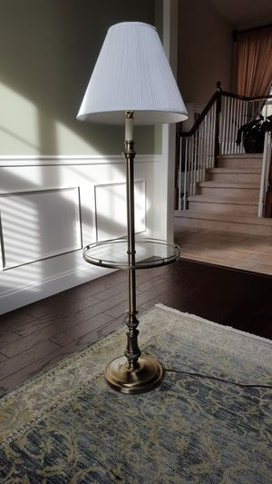 Glass & Bronze Table Lamp for Sale in Canton, MI