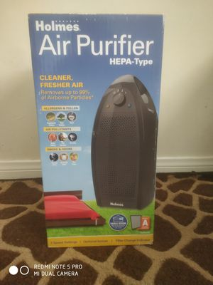 Air Purifier. Holmes HAP9412B-UA. HEPA-Type filtration removes 99% of airborne particles as small as 2 microns from air passing through the filter. for Sale in Buena Park, CA