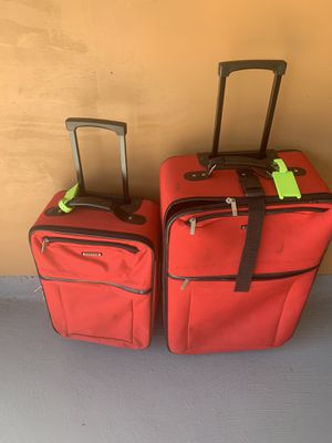 Red luggage for Sale in Beaumont, TX