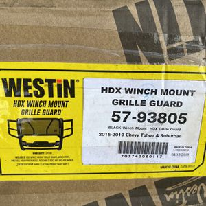 New WESTIN HDX Winch Mount (2015-2020)Chevy Tahoe and Suburban Grille Guard (Black) for Sale in Opa-locka, FL