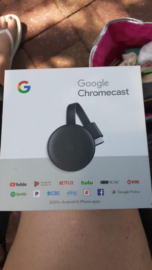 Google chromecast! brand new in box* for Sale in Dallas, TX