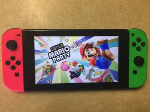 NINTENDO SWITCH with 60 GAMES LUIGIS MANSION, MARIO KART, MARIO ODYSSEY, SMASH BROS. ZELDA, POKEMON AND MANY MORE GAMES for Sale in San Diego, CA