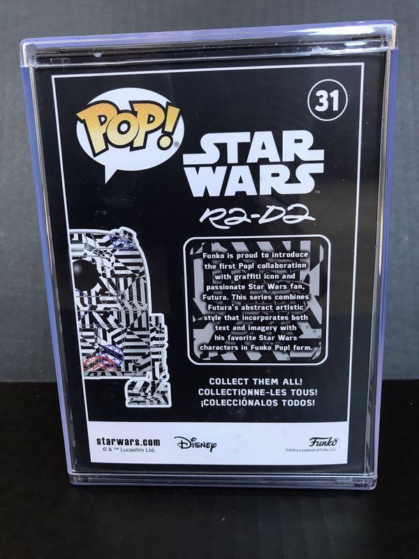 Funko Pop Futura X Star Wars R2d2 Limited Edition.