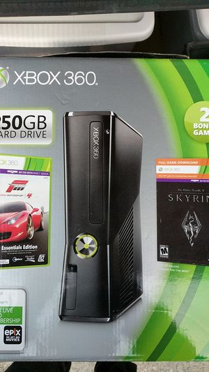 Xbox 360 ( used ) with games, controllers, & a microphone for Sale in San Leandro, CA