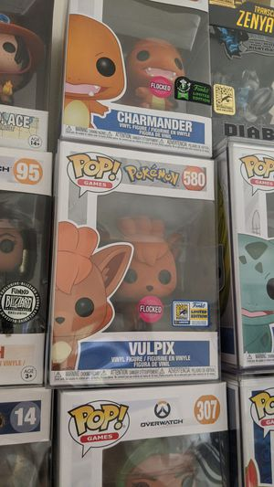 Funko Pop Pokemon Vulpix SDCC flocked exclusive sticker for Sale in Arcadia, CA