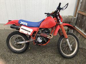 1985 Honda XR350 for Sale in Tacoma, WA