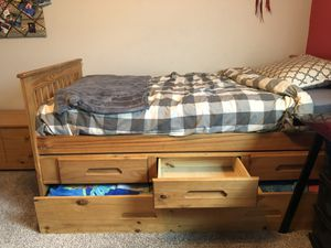Trundle Bed with Storage for Sale in Lutz, FL