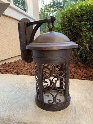 Outdoor wall lantern for Sale in Sacramento, CA