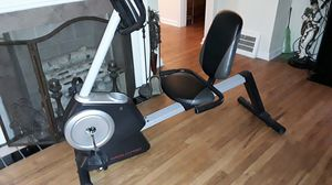 A WESLO PRO seated exercise bike like new please serious buyers for Sale in Euclid, OH