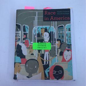 Race In America By Matthew Desmond, Mustafa Emirbayer for Sale in Chino Hills, CA