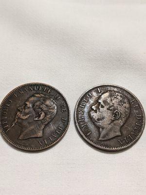 Antique Italia coin 1866 for Sale in San Diego, CA