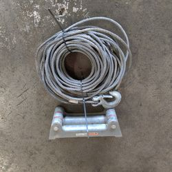 3/8 Winch Cable Hook And Fairlead for Sale in Tacoma,  WA
