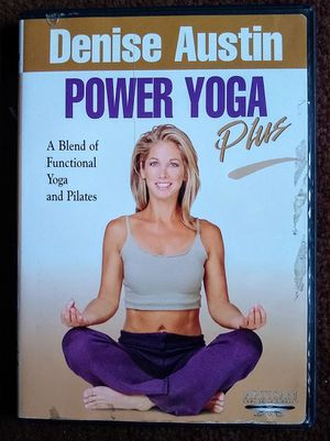 DENISE AUSTIN - POWER YOGA PLUS (2001). DVD for Sale in Queens, NY