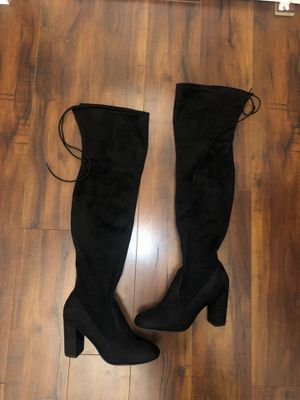 Over the knee boots for Sale in Stockton, CA