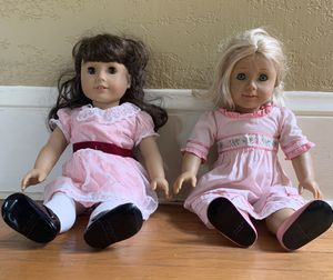 American Girl Dolls Caroline and Samantha for Sale in Portland, OR