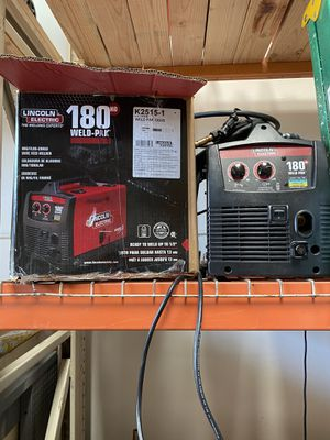 Lincoln 180 Weld Pak MiG Welder for Sale in Murrieta, CA