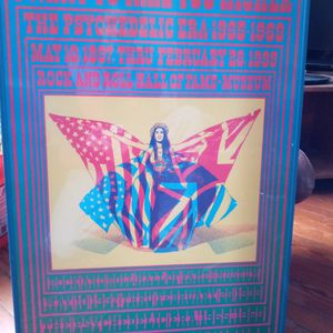 Rock and Roll Hall of Fame Poster for Sale in Baltimore, MD
