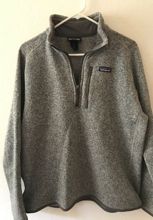 Patagonia 1/4 zip fleece pullover size large for Sale in Irvine, CA