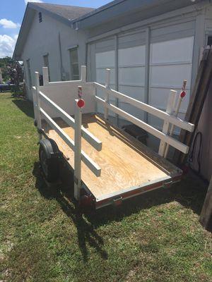 Open Utility / Motorcycle / Cargo trailer 4 X 8 ( READ BELOW ) for Sale in Deerfield Beach, FL