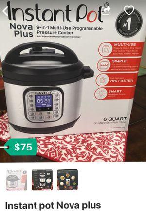 Instant pot nova plus for Sale in Los Angeles, CA
