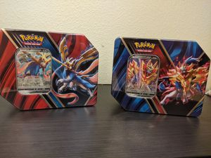 Pokemon TCG Legends of Galar Tin Zacian V & Zamazenta V Tin Sealed for Sale in San Diego, CA