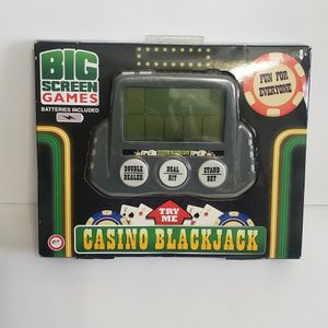 Big Screen Games Casino Blackjack handheld games new for Sale in Plainfield, IL