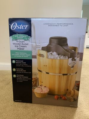 Oster Ice Cream Maker - Never Used for Sale in Mauldin, SC