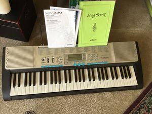 Casio Lighted Learning Keyboard for Sale in Haymarket, VA