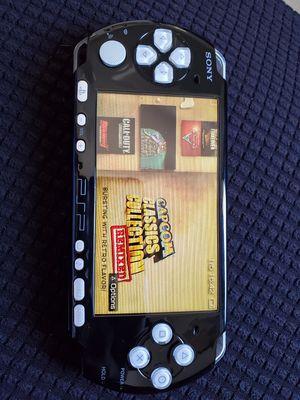 LIKE NEW !!! BLACK/GREY 3001 * SLIM * - PSP - WITH 5,000 GAMES !!! for Sale in Santa Ana, CA