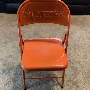 Brand New Supreme Foldable Chair Available Today Only for Sale in Marietta, GA